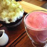 おちゃのこ - 擂茶(れいちゃ)氷とスムージー