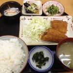 惣菜 おか - 日替わり定食430円(サバのフライ)(第一回投稿分①)