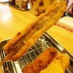 燻製カレーと串カツ ガラック - 穴子の串揚げ♪