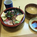 芳すし - 鉄火丼550円