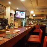 京都ダイナー - 店内(カウンター席)
