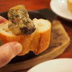 京都ダイナー - 牡蠣のアヒージョ