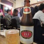 ゴンゴン - ベトナムビール 650円