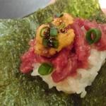 桜肉寿司と桜しゃぶしゃぶ たてがみ -