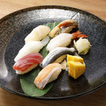 寿司7貫盛り合わせ