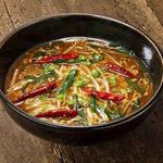 花椒のきいたシビ辛マーラー麺