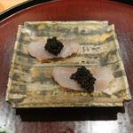 日本料理 太月 - 五島列島アマダイにキャビア
