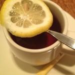 カプリチョーザ - 食後のレモンティー