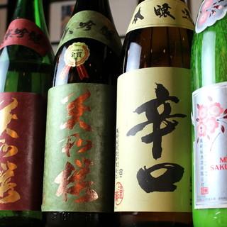 """""""香り""""に惚れ込む。大阪では珍しい広島県地酒【美和桜】で一杯"""