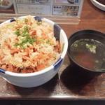 105896691 - かきあげ丼(並丼)税込750円