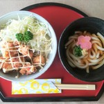 並盛丼ミニ麺セット(なみ盛丼3種から1種&うどんセット)