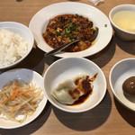105898270 - マーボー豆腐(800円)