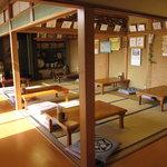 二代目 おやじの店 昌 - 客席は、全て座卓・・