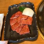 105900077 - 和牛カルビ定食1080円