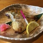 105903439 - 一品料理、カンパチのカマ西京味噌焼き。オススメです‼️ 570円は安過ぎ‼️