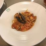 季節のキッチン - メイン料理、魚介類たっぷりの漁師風スパゲッティ