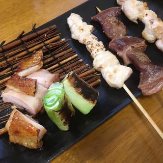 弥満喜 - 料理写真:奥久慈しゃも塩焼き