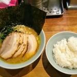 105907612 - チャーシュー麺と小ライス