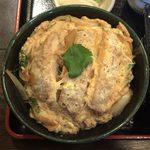寿美吉 - Cセット(ミニカツ丼+ミニもり) ¥870 のミニカツ丼