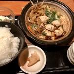 105908916 - 比内地鶏のすき煮御膳