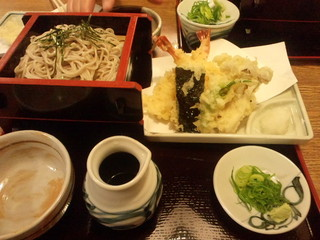 伏見庵 - 天ぷら蕎麦