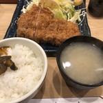 宇田川 - ロースカツ定食