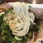 神戸ラーメン 第一旭 - 自家製の細ストレート麺がまた美味い!(2019.4.17)