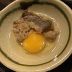 焼肉・冷麺ヤマト - 溶き卵で食べる「炙りカルビ」はグー!
