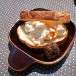 ジャックカフェ - 茹で卵が粗切りで美味〜♬