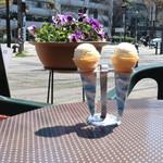 ジャックカフェ - ランチのアイスクリーム
