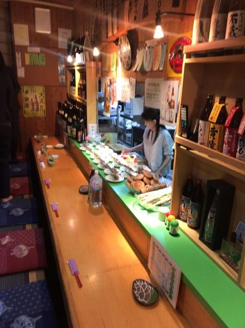小料理 石蕗 - カウンター