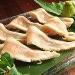 瑠璃座 - 百日鶏のたたき(とりわさ)人気です。