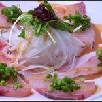 旬彩庭華美 - 魚介と野菜の胡麻醤油