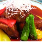旬彩庭華美 - 黒豚の角煮