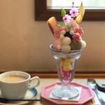 あおくまカフェ - 料理写真:2019.4