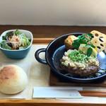 あおくまカフェ - レモン風味のネギ塩ダレ 2019.4