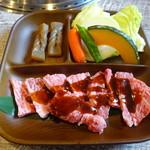 焼肉 たこやん - 黒毛和牛カルビランチ