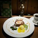ライトニングカフェ - 『ケーキプレート』