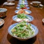 劉家厨房 - ☆前菜盛合せ