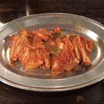 町屋牛金 - 白菜キムチ ¥380