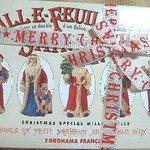 10593999 - ミルフィーユが入っている箱(クリスマスバージョン)