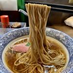 煮干しつけ麺 宮元 - 限定の鴨そばduck(980円)