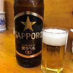 代一元 - ビール大550円