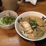 らー麺藤平 - 明太子ミニ丼セット¥900