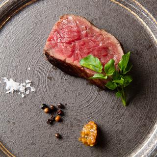 発酵熟成赤身ステーキ