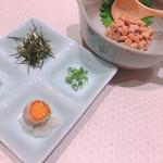 とんかつと和食の店 長八 - ◆特選鎌倉山納豆 378円(税込み)