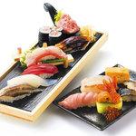 魚太郎 市場食堂 - 料理写真:魚屋鮨【特上】