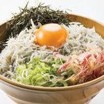 魚太郎 - 釜揚げしらす丼