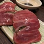 神戸牛らーめん 八坐和 - 神戸牛肉寿司