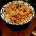 105940791 - トムヤムクンヌードルとミニご飯セット